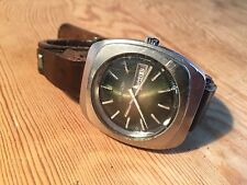 Vintage Watch Reloj - DUWARD Automatic 100M - Stainless Steel - Incabloc