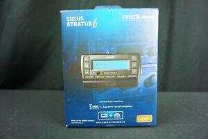 Sirius XM Stratus 6 Satellite Radio SDSV6V1 and Vehicle Car Truck Kit - OPEN BOX