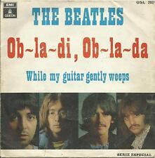 """BEATLES Ob-la-di Ob-la-da SPAIN Odeon picture fantstic """"White Album"""" sleeve"""