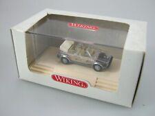 Wiking 1:87 H0,VW Golf Cabrio Karosserie transparent, fertiges Modell in PC Verp