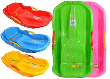 Schlitten Kinderschlitten BOB MINIBOB Kunststoff Rodel 4 Farben Lenkschlitten