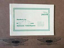 Handbuch für elektrische Fehlerdiagnose, Jaguar XJ Serie 3, Deutsch