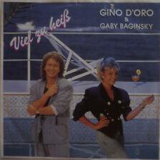 "7"" 1991 MINT- ! GINO D´ORO & GABY BAGINSKY Viel zu heiß"
