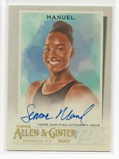 New listing 2020 Topps Allen & Ginter Simone Manuel RC AUTO AUTOGRAPH OLYMPICS