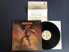 KID DYNAMITE Sefl Titled LP Vinyl VG/VG+ PROMO With Letter From Cream Records