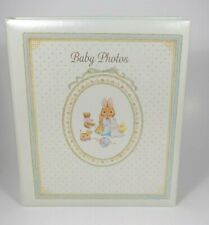 Hallmark - Storybook Bunny Baby Photo Album w/Scrapbook Refill Pages - New