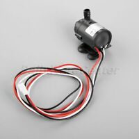 DC 6-12V Brushless Water Pump Amphibious Motor Pump w/ Speed Measurement Wire