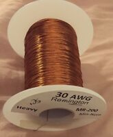 Remington Industries 30H200P.25 30 AWG Magnet Wire, Enameled Copper Wire, 200 B5