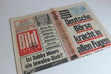 BILDzeitung 27.05.1970 Mai Umschlagsseiten / 4 Seiten   Bobby Moore