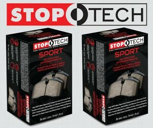 [FRONT + REAR SET] STOPTECH Sport Performance Disc Brake Pads STP101017