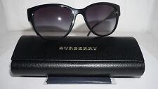 New BURBERRY Sunglasses Black Gold Black Gradient B 4190 3001/8G 56 17 140