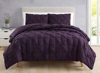 SuperBeddinds Collection Estellar Pinch Pleat  Bedding Comforter Set All Sizes