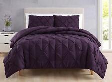 SuperBeddings Estellar Pinch Pleat Bedding Comforter Set