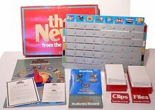 Vintage 1987 The News From The BBC Board Game - Mattel Games