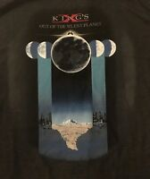 KINGS X cd cvr OUT OF THE SILENT PLANET Official Gray SHIRT LRG new