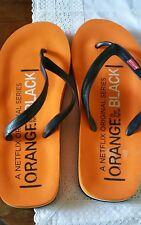 RARE Orange is The New Black OITNB Season Three 3 PROMO FLIP FLOPS SANDLES XL