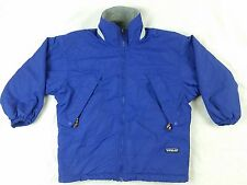 Patagonia Kids Purple Jacket Fleece Lined Kids Size Small Style 64225
