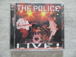 double cd the police live,occasion