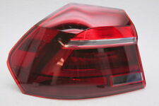 OEM Volkswagen Passat Left Driver Side Tail Lamp 561-945-207-C Lens Crack & Chip