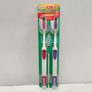Butler Gum Super Tip Bristles 460 Soft Full Toothbrush - Twin Pack