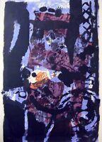 "Antoni Clave ""Composition"" Original Lithograph Signed"