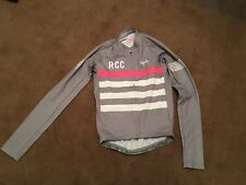 New Rapha RCC Pro Team Aero Jersey Cycling Long Sleeve Jersey taille de S