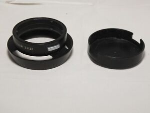 Leitz Leica 12585 Metal Lens Hood for E39 35mm and 50mm M Lenses. 50mm Summicron