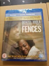 Fences (with Digital Download) [Blu-ray] Brand new and sealed