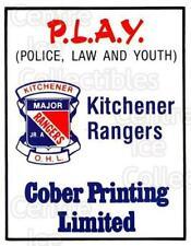 1984-85 Kitchener Rangers #30 Sponsor Card