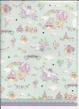 Sanrio Cinnamoroll Stars File Folder Portfolio Side Open 2 Sizes Set