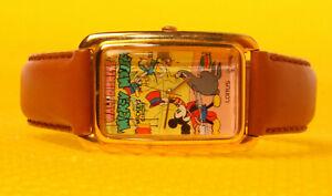 "Men's Vintage MICKEY MOUSE by LORUS / SEIKO ""V515-5A70"" Quartz Watch <NwoT>"