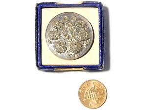 c1950s National Chrysanthemum Society NCS Medal BOXED Unused #6
