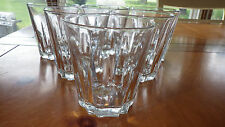 Clear Glass Old Fashion Whiskey Glasses made in Spain 6 12oz Duralex