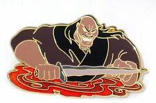 LE 500 Disney Pin✿Mulan Movie Evil Villain Shan Yu Halloween Mystery Battle Fire