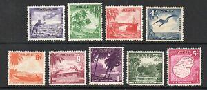 Nauru - SG# 48 - 56 MH (few h rems/ #55 nibbed corner)  -   Lot 0921325