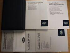 Range Rover Sport Manuel Owners Manual Portefeuille Navi 2013-2017 Pack 13536