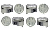 """4.00"""" Bore 9:1 Comp Dish Top Pistons Set w/ Pins for Chevrolet SBC 350 5.7L"""