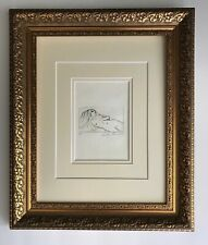 LEROY NEIMAN ORIGINAL ETCHING HAND SIGNED IN PENCIL NUMBERED 5/50 MATTED 11X14