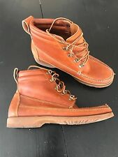 Vintage L.L. Bean 8.5 M 165 Vibram Signature Chukka Hiking Walking Boots