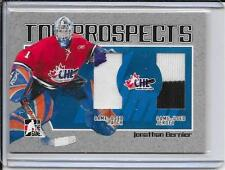 06-07 Heroes And Prospects Jonathan Bernier CHL Top Prospects Patch/Jersey # 10