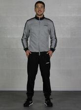 (tg. S) adidas Tracksuit Cotton Relax Suits Uomo Medium Grey Heather Black S