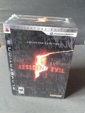 PS3 RESIDENT EVIL 5 Collector's Edition US NEUF/ FACTORY SEALED