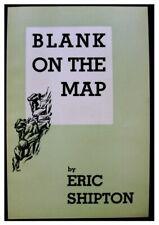 1937 Shaksgam Expedition - ERIC SHIPTON - Original Prospectus - BLANK ON THE MAP