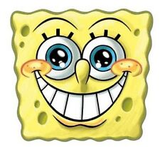 Spongebob Smile Official Single Card Party Fun Face Mask - Great for parties