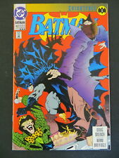 BATMAN #492 RARE 3RD PRINT KNIGHTFALL PART 1 BANE JOKER HTF VF+
