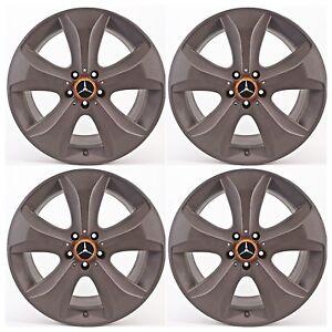 orig. 8,5x19 ET36 Mercedes S-Klasse W222 217 Alufelgen A2224012502 crackle grey