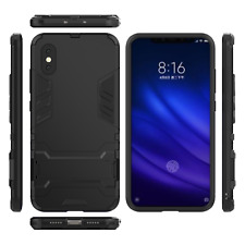 Xiaomi Mi Mix 3 (5G) Black Slim Full Body Drop Protection Phone Case Kick Stand