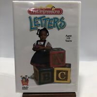 First Impressions - Vol. 3: Letters (DVD, 2003) NEW SEALED