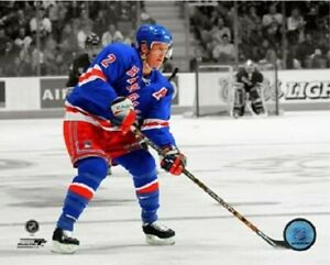 "Brian Leetch New York Rangers Spotlight Action Photo (Size: 8"" x 10"")"