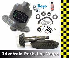 07-16 Jeep Wrangler Non Rubicon Posi Package 4.56 Ratio Gear Set and Master Kit
